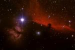 NGC 2024 Pferdekopfnebel und Flammennebel